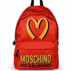 a923b1a195 Moschino Couture Jeremy Scott McDonalds Backpack
